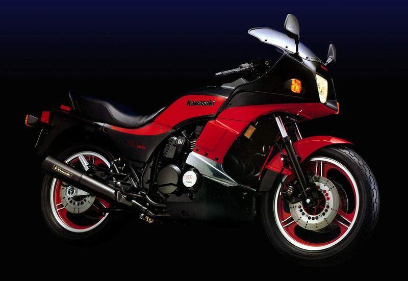 Kawasaki GPZ750 Turbo  2